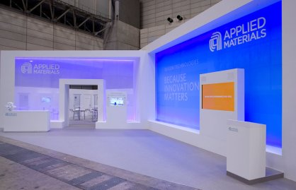Applied Materials Exhibit at Semicon Japan by Idea International Inc. -#2