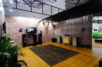 Klipsch Exhibit at CES Asia Shanghai by Idea International, Inc.