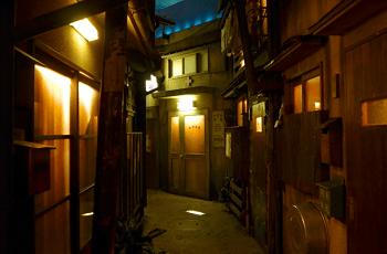 昭和時代の町