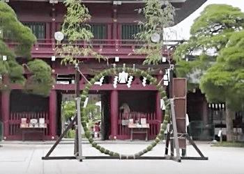 神社の茅の輪
