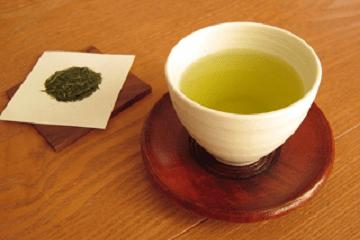 天目茶碗のお茶
