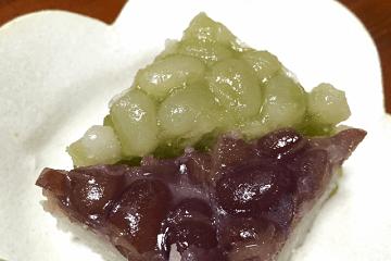 和菓子の水無月
