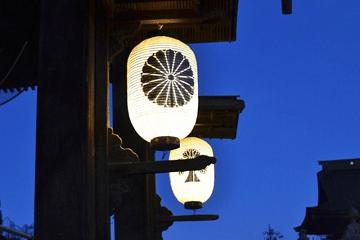 善光寺の提灯