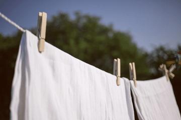 干されている洗濯物