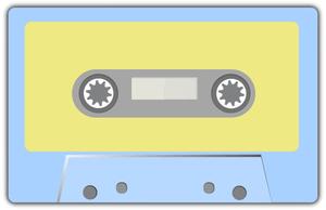 A cassete tape icon
