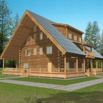44 Best Log Cabin Homes Plans One Story (33)