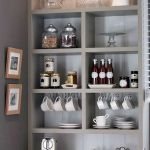 60 Best Mini Coffee Bar Ideas for Your Home (25)