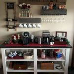60 Best Mini Coffee Bar Ideas for Your Home (27)