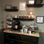 60 Best Mini Coffee Bar Ideas for Your Home (3)