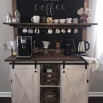 60 Best Mini Coffee Bar Ideas for Your Home (44)