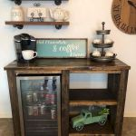 60 Best Mini Coffee Bar Ideas for Your Home (49)