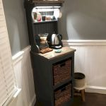 60 Best Mini Coffee Bar Ideas for Your Home (59)