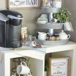 60 Best Mini Coffee Bar Ideas for Your Home (7)