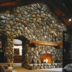 63 Best Log Cabin Homes Fireplace (34)
