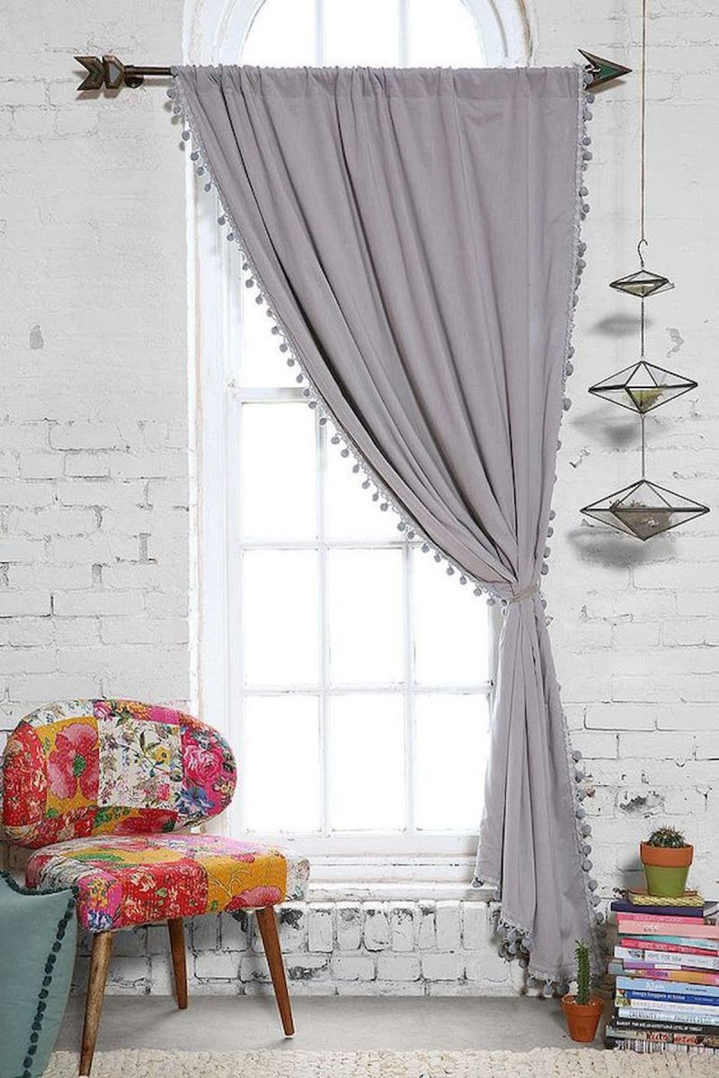 65 Adorable Window Curtains Design Ideas And Decor (17)