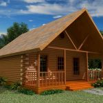 66 Best Small Log Cabin Homes (60)