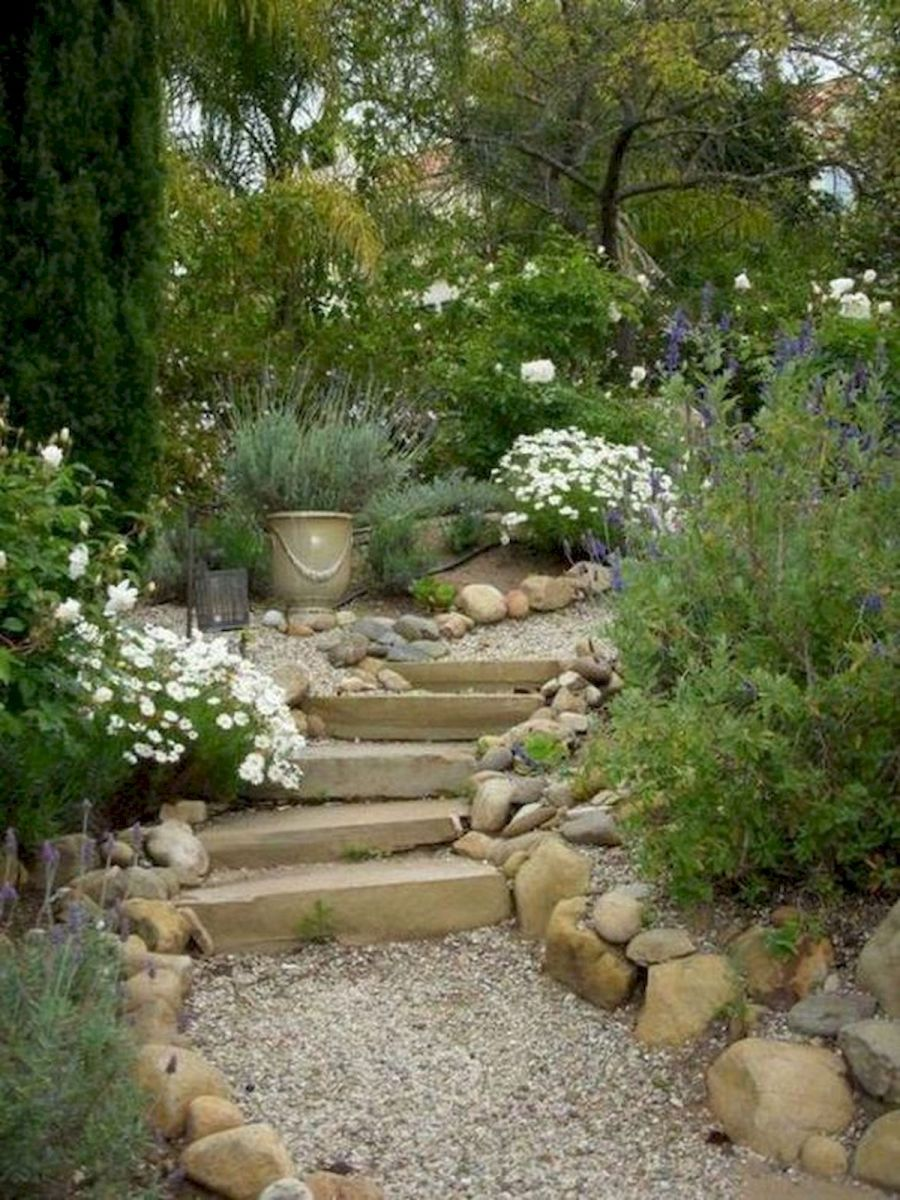 71 Beautiful Gravel Garden Design Ideas For Side Yard And Backyard (28)