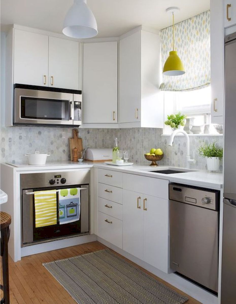 90 Beautiful Small Kitchen Design Ideas (33)