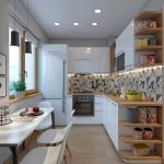 90 Beautiful Small Kitchen Design Ideas (85)