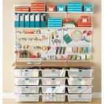 40 Stunning Craft Room Cabinets Decor Ideas and Design (12)