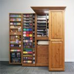 40 Stunning Craft Room Cabinets Decor Ideas and Design (5)