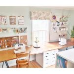 50 Most Popular Craft Room Sewing Decor Ideas (10)
