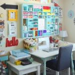 50 Most Popular Craft Room Sewing Decor Ideas (28)