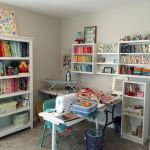 50 Most Popular Craft Room Sewing Decor Ideas (5)