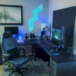 50 Stunning Computer Gaming Room Decor Ideas and Design (17)