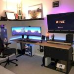 50 Stunning Computer Gaming Room Decor Ideas and Design (43)