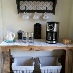 60 Amazing Mini Coffee Bar Ideas for Your Home (10)