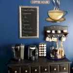 60 Amazing Mini Coffee Bar Ideas for Your Home (39)