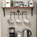 60 Amazing Mini Coffee Bar Ideas for Your Home (42)