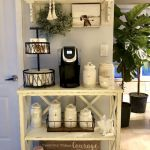 60 Amazing Mini Coffee Bar Ideas for Your Home (43)
