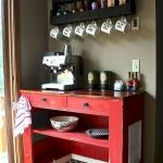 60 Amazing Mini Coffee Bar Ideas for Your Home (46)