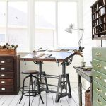80 Amazing DIY Art Desk Work Stations Ideas and Decorations (2)