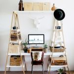 80 Amazing DIY Art Desk Work Stations Ideas and Decorations (28)