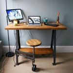 80 Amazing DIY Art Desk Work Stations Ideas and Decorations (29)