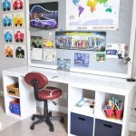 80 Amazing DIY Art Desk Work Stations Ideas and Decorations (34)