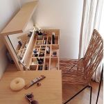 80 Amazing DIY Art Desk Work Stations Ideas and Decorations (47)