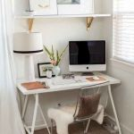 80 Amazing DIY Art Desk Work Stations Ideas and Decorations (71)