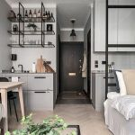 53 Best Minimalist Studio Apartment Small Spaces Decor Ideas (39)