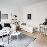 53 Best Minimalist Studio Apartment Small Spaces Decor Ideas (7)