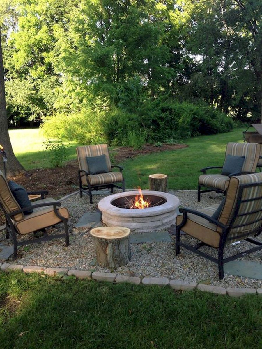 57 Awesome Backyard Fire Pit Ideas (28) - Ideaboz