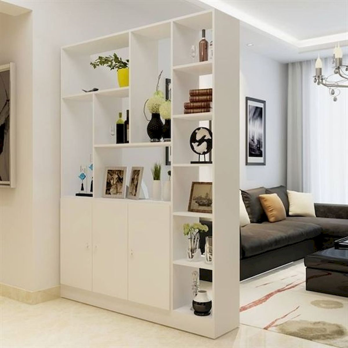 66 Studio Apartment Storage Decor Ideas (6)