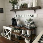 51 Farmhouse Wall Decor Ideas for Dinning Room (3)