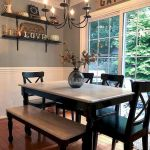 51 Farmhouse Wall Decor Ideas for Dinning Room (4)