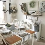 51 Farmhouse Wall Decor Ideas for Dinning Room (45)