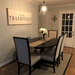 51 Farmhouse Wall Decor Ideas for Dinning Room (5)