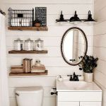 59 Best Farmhouse Wall Decor Ideas for Bathroom (43)
